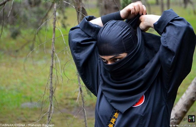 دختران نینجا ایرانی