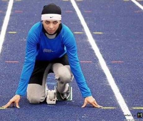 مصاحبه با دختر دونده ایرانی