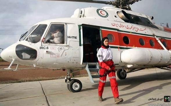 انجام عملیات های خطرناک توسط این دختر ایرانی