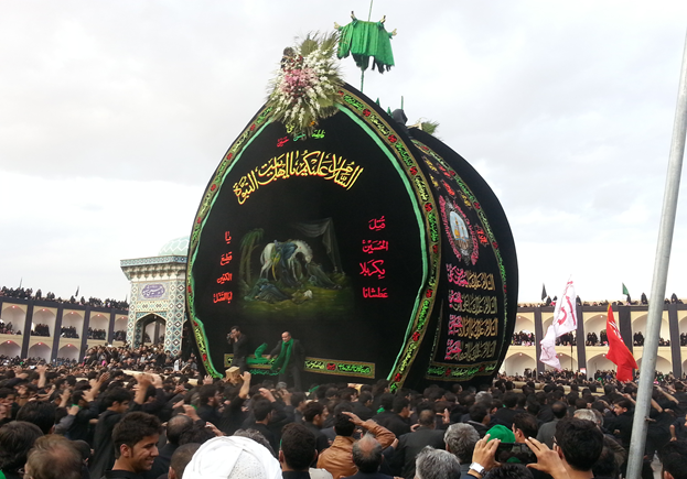 عزاداری مردم شهرستان اشکذر-یزد