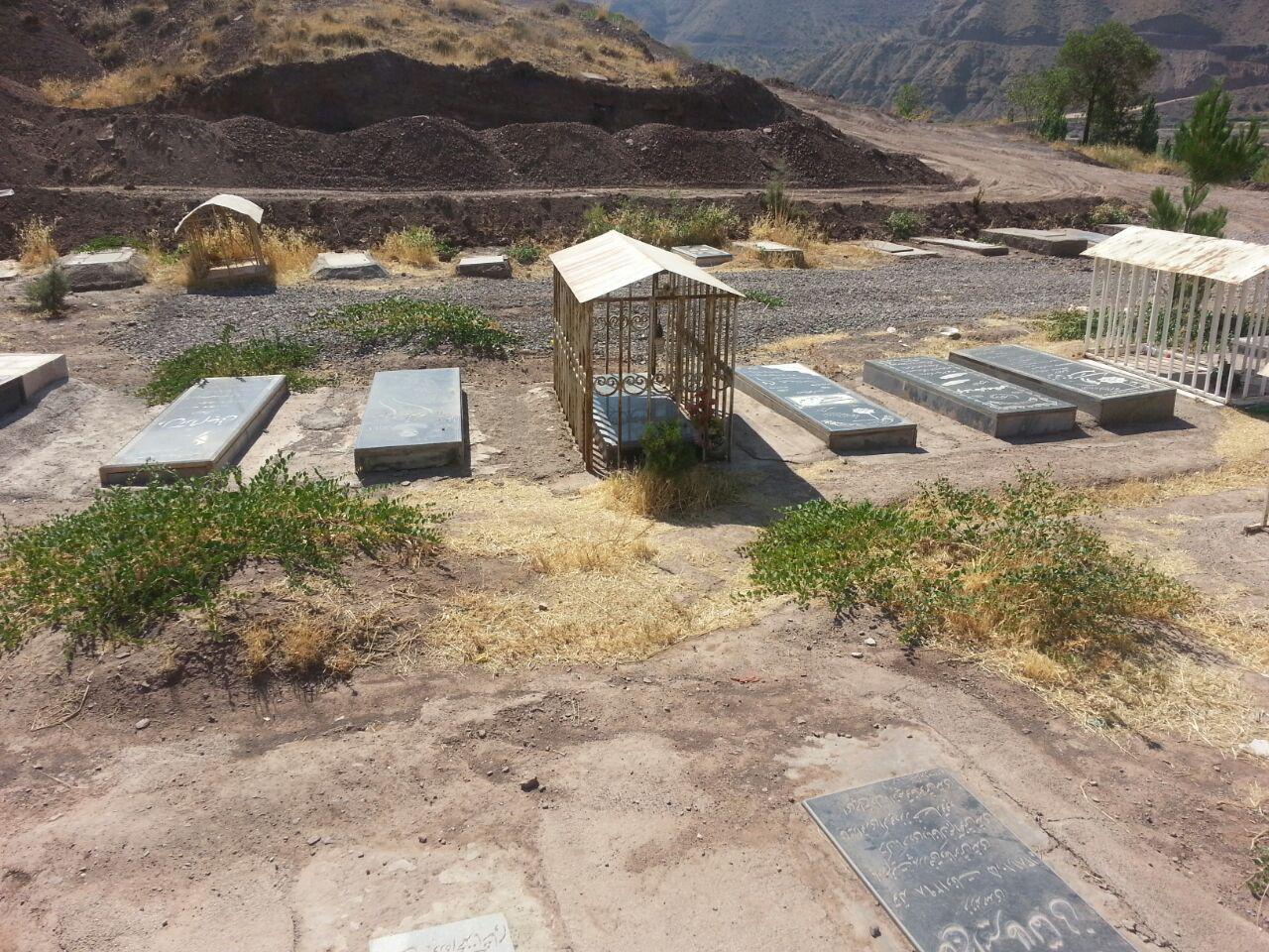 مزارستان عمومی روستای باغدشت مرداد شهریوار
