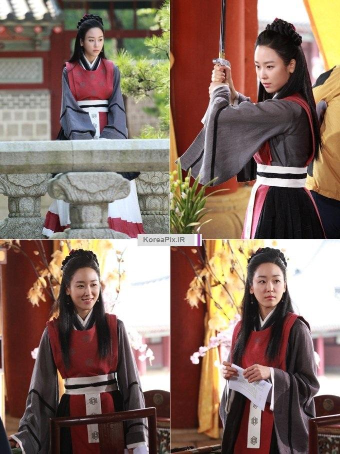 عکس بازیگران سریال دختر امپراتور خارج از فیلم