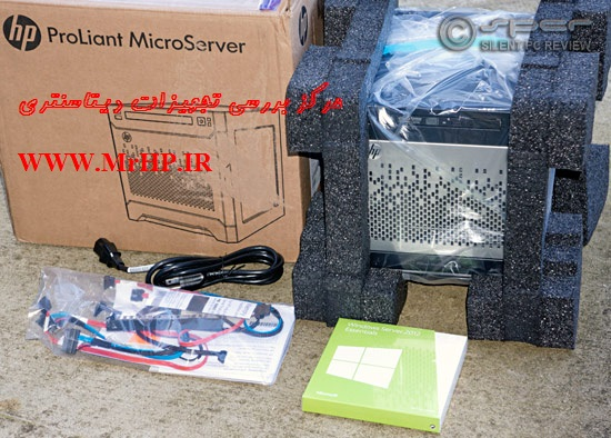 HP ProLiant MicroServer Gen8 G1610T 1P 2GB-U B120i NHP SATA Server 712317-xx1