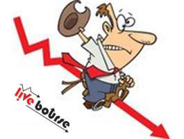 شاخص داوجونز بیشترین سقوط سالانه خود را تجربه کرد