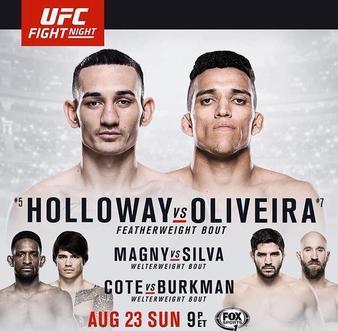 دانلود یو اف سی فایت نایت 74 | UFC Fight Night 74: Holloway vs. Oliveira