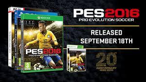 خرید بازی فوتبال PES 2016 برای کامپیوتر