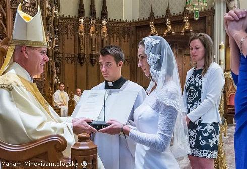 زنی که با حضرت عیسی مسیح ازدواج کرد