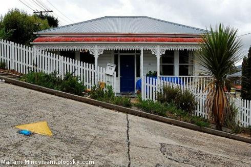 شیبدارترین خیابون جهان در نیوزیلند