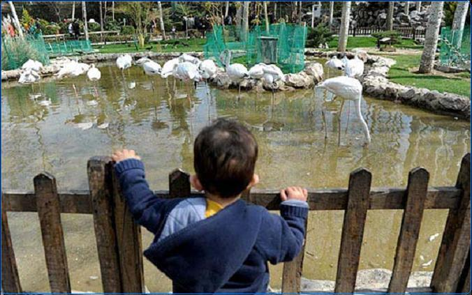 دیدنی های شهر اصفهان - باغ پرندگان