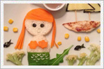 ایده های خلاقانه با خوراکی ها