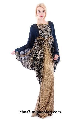 لباس های جدید هندی ساری با رنگ آبی