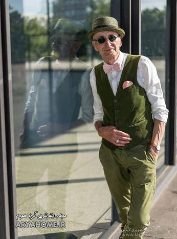 انتخاب خوش تیپ ترین پیرمرد دنیا ! , جالب و خواندنی