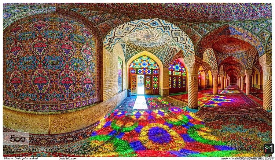 عجیب ترین مسجد ایران ، زیباترین مسجد ایران
