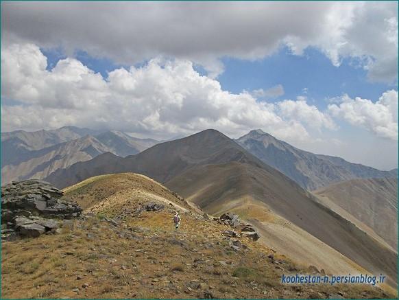 مسیر قله سه چال