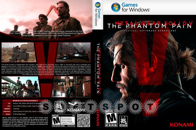 کاور بازی Metal Gear Solid V: The Phantom Pain