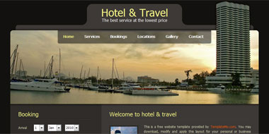 Hotel Template