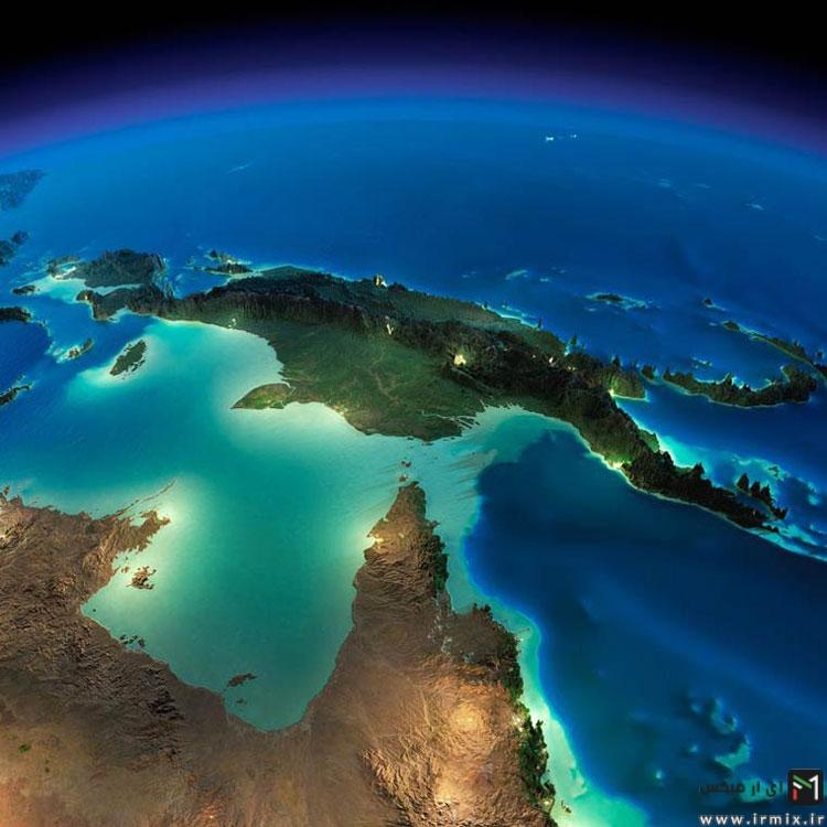 دریای خزر و خلیج فارس ایران را هرگز اینگونه ندیده اید