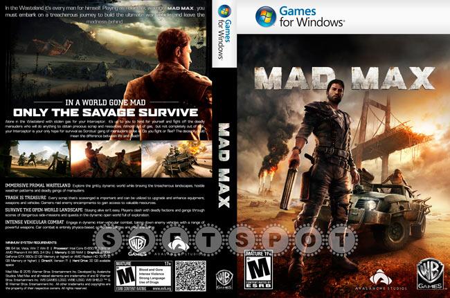 کاور بازی Mad Max
