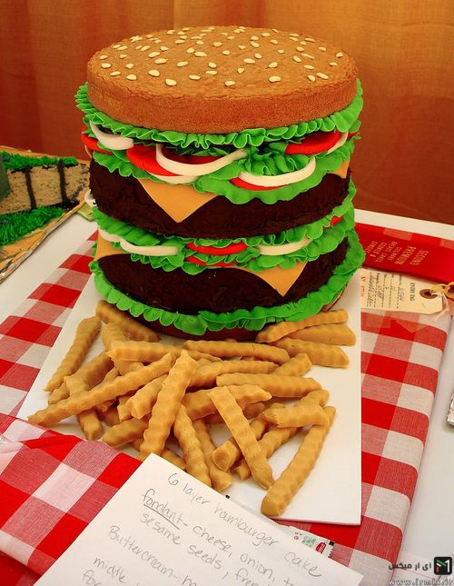 عکس جالب ترین کیک های دنیا