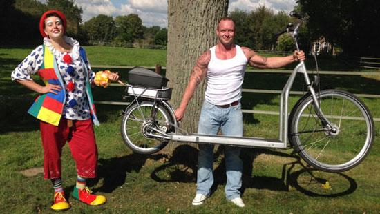 دوچرخه جالبی که میشود با آن پیاده روی کرد , عمومی