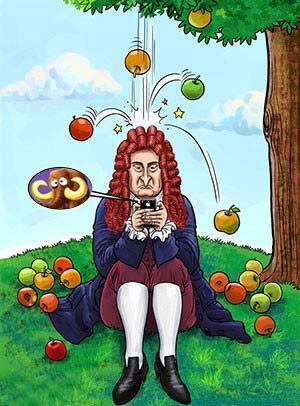 قانون هایی که نیوتن از قلم انداخت , مطالب طنز