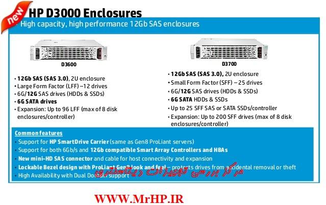 DAS , D2600 سرور , انکلوژر چیست DAS