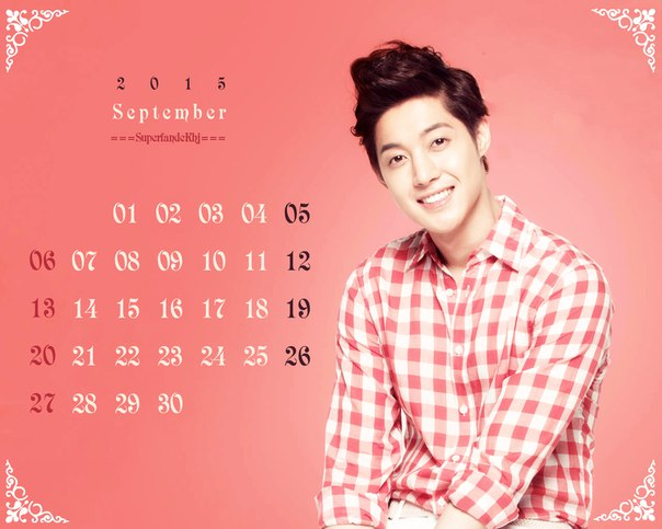 Wallpaper September Schedule