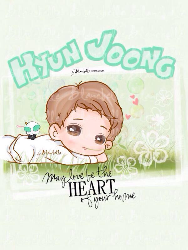 blancbelle fanart from hyun joong 15.08.29