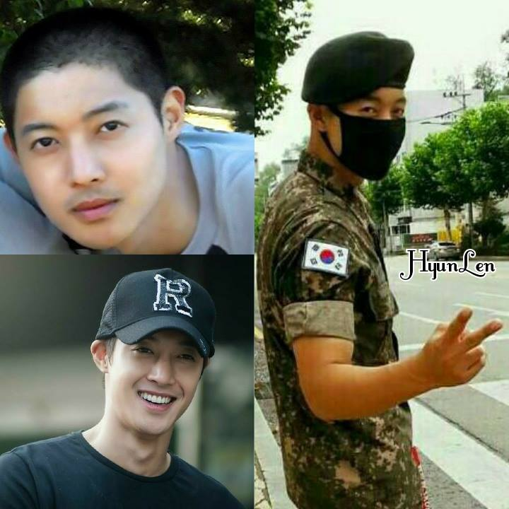 Congratulations - Hyuck Woon Kwon (HJ Friend) FB Update - Kim Hyun Joong promoted to Private First Class - 2015.09.01
