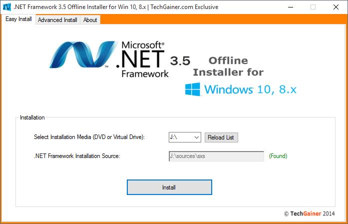 نصب آفلاین NET Framework 3.5. در ویندوز 10