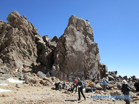 مسیر قله سبلان