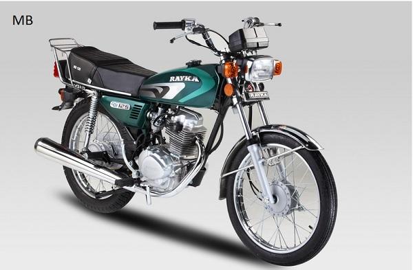 قیمت موتور سیکلت رایکا 125 - 56