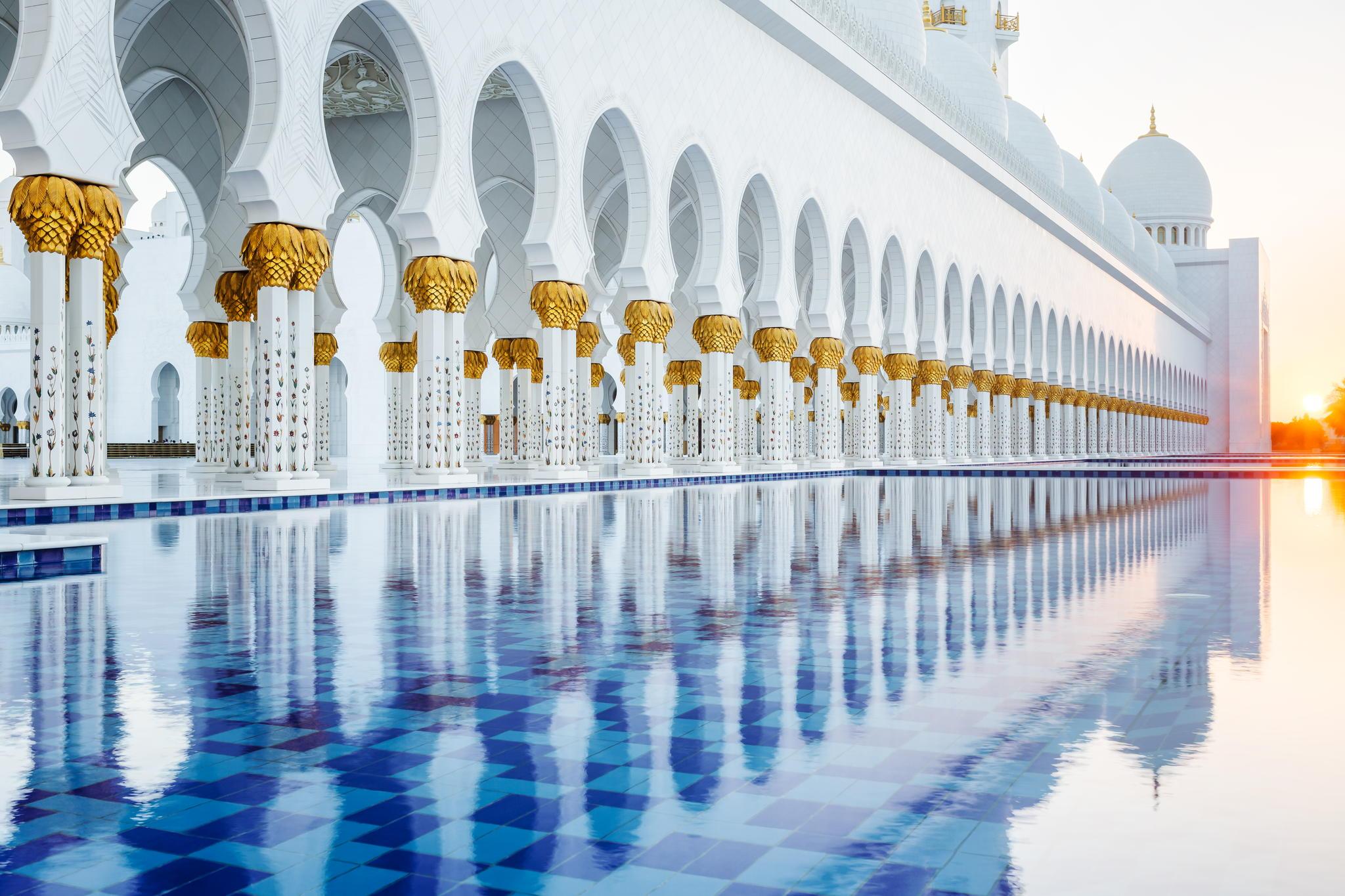 Sheikh Zayed Mosque - abu dhabi - خیالباف -