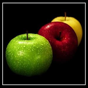 تفاوت سیب قرمز با زرد