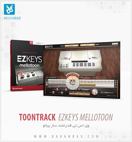 دانلود وی اس تی پیانو Toontrack EZkeys Mellotoon