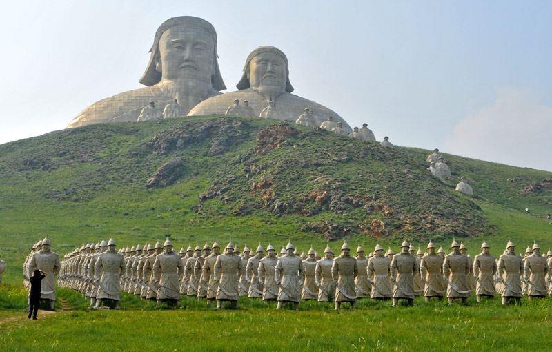 محبوبيت چنگیزخان در مغولستان