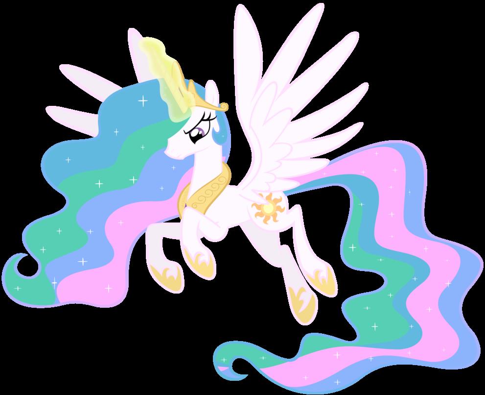 پرنسس ها (my little pony) - پرنسس سلستیا