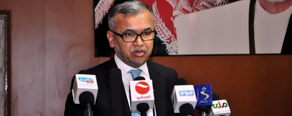 وزیر فوایدعامه به اتمام پنج پروژه مهم  در دایکندی تأکید کرد
