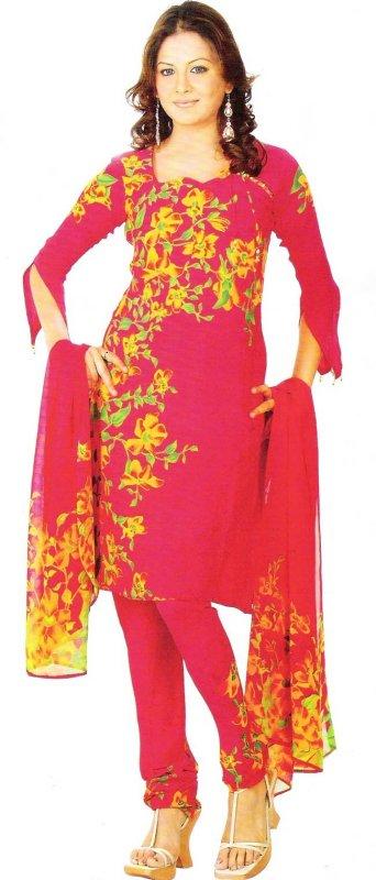 مدل ساری هندی قرمز بسیار زیبا و جذاب