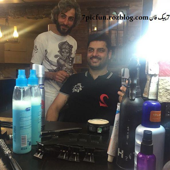 عکس های جذاب و دیده نشده از سام درخشانی شهریور94