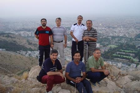 کوهپیمایی صبحگاهی بچه های کوهستان /باباکوهی /مسیر دیده بان15شهریور 94