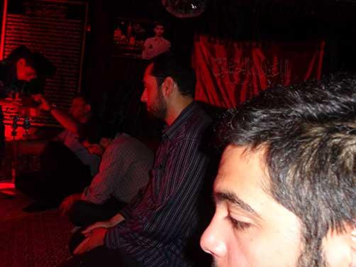 برگزاری مراسم معنوی هیئت فاطمیون در محل حسینیه شهیددولت آبادی