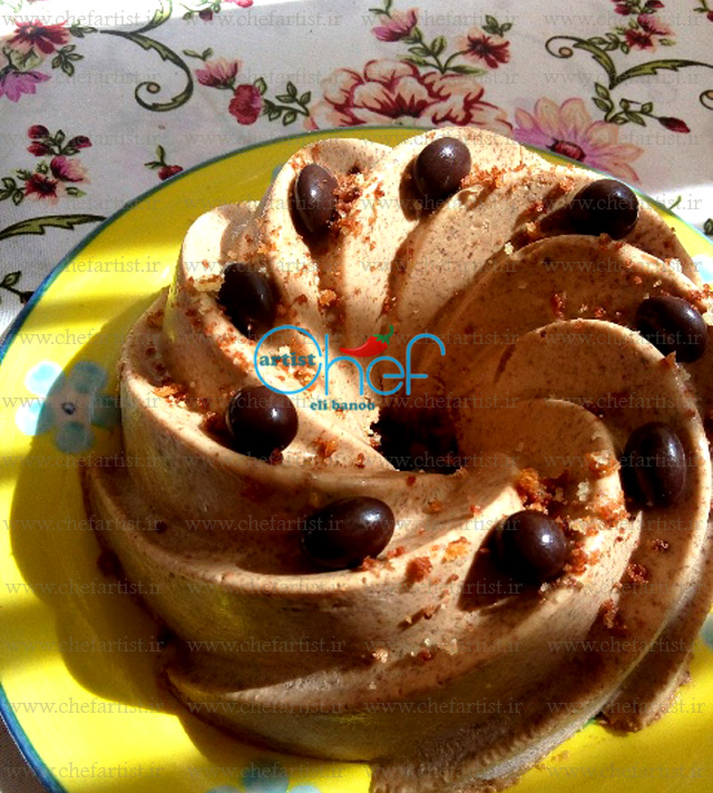 موس مخملی(brown velvet Mousse)