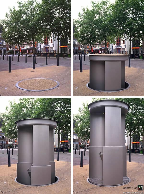 عجیب ترین و زیبا ترین توالت های دنیا