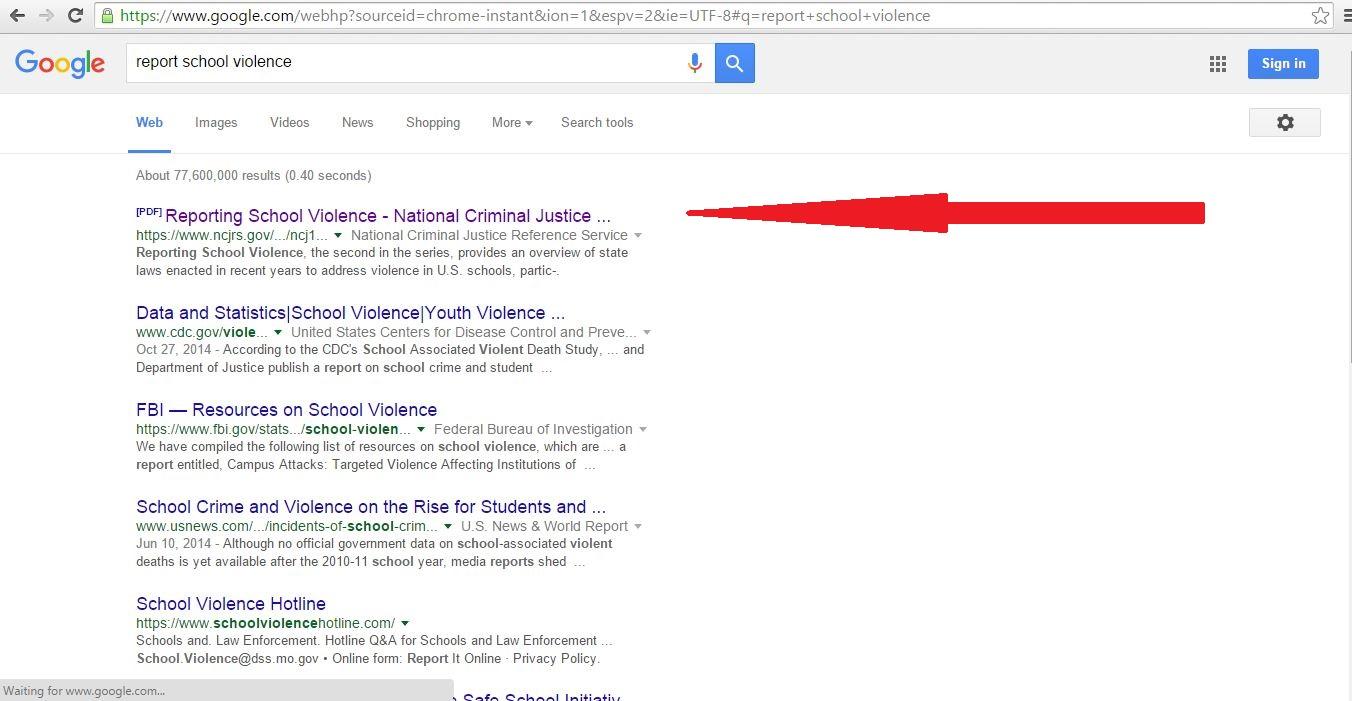 pdf in google