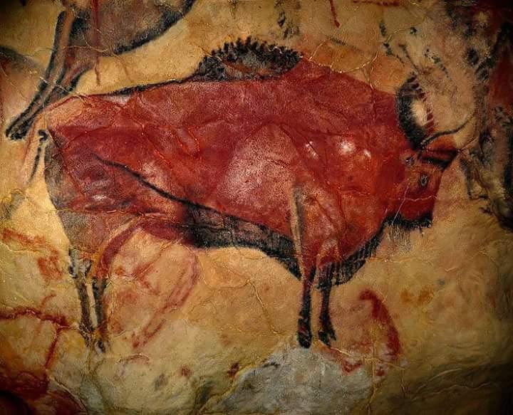 نقاشی بازمانده از انسانهای غارنشين
