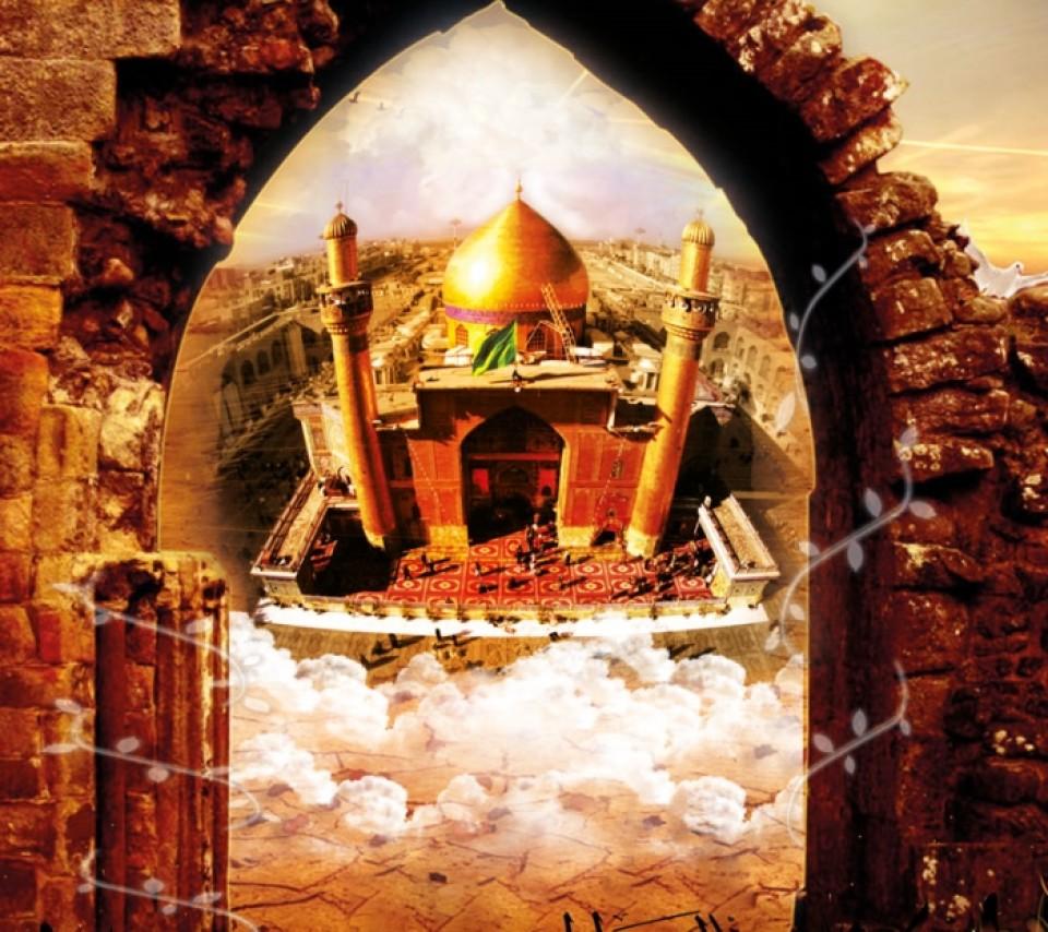 حضرت علی در غار حرا