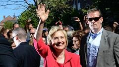 هیلاری کلینتون: یک مسلمان می تواند رئیس جمهوری آمریکا شود