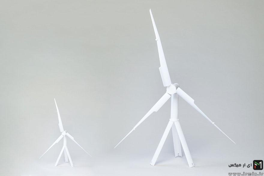 توربین بادی زد آب برای تولید برق، توربین بادی،اختراعات جالب و باحال،باحال ترین اختراعات جهان