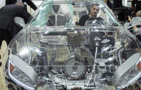 رونمایی شرکت زد اف از ماشینی عجیب!! , اتومبیل ها